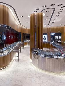 Watches of Switzerland<br> <p> Products : HORIZON | HORIZON FLEX | FLOW FLEX | Lighting Designer : Callison LLC | Photographer: Callison LLC | Retailer : Aurum Holdings Ltd </p>